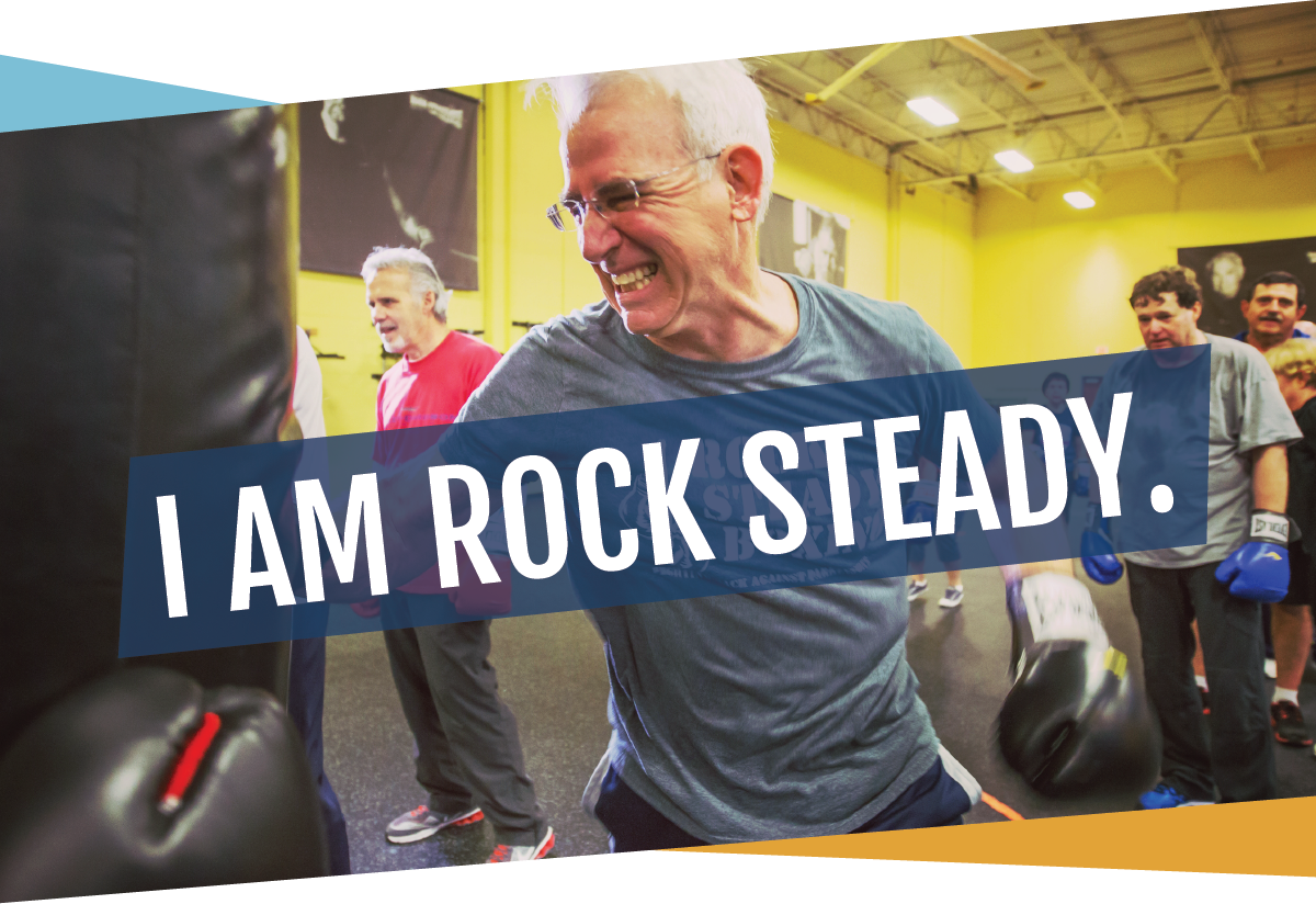 I am rock steady.