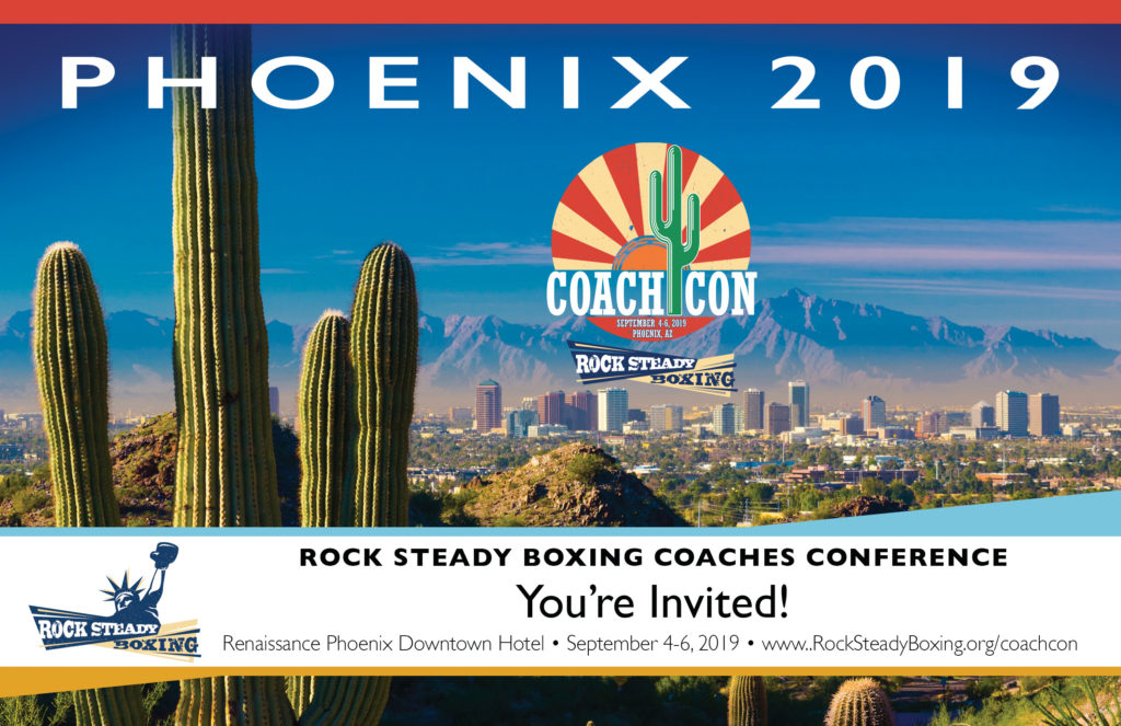 Rock Steady RSB Coach Con Comes to Phoenix